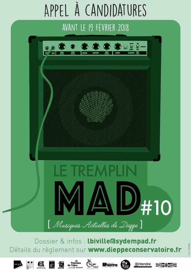 Le MAD –  Tremplin des Musiques Actuelles de Dieppe : Ca commence !